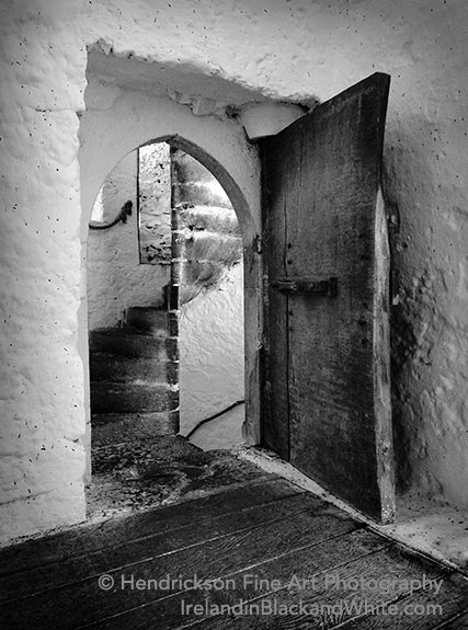 Castle Door, Ireland by Hendrickson Fine Art Photography