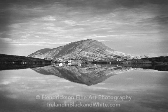 Connemara Lake Reflection by Hendrickson photo