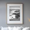 Donegal Coast shown framed